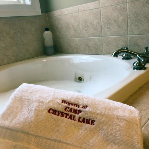 Property of Camp Crystal Lake towel
